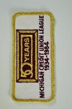 MICHIGAN CREDIT UNION LEAGUE PATCH - $6.44