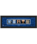 Personalized Indiana State University Sycamores Campus Letter Art Print - $39.95
