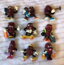 Set of 9 Vintage Collectible California Raisins  - $25.00