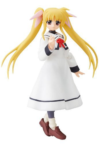 Primary image for Lyrical Nanoha As: Fate Testarossa School Uniform Ver Figma #062 Figure NEW!