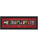 Personalized Arkansas State University Red Wolves Campus Letter Art Print - $39.95