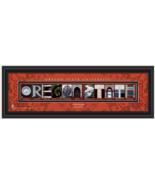 Personalized Oregon State University Beavers Campus Letter Art Print - $39.95