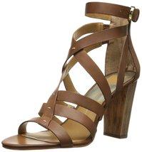 Dolce Vita Women's Nolin Dress Sandal, Brown, 9.5 M US - £71.11 GBP