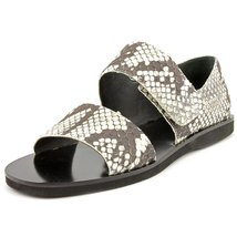 Vince Women's Salina Sandals, Black/White, 6 B(M) US - $89.99