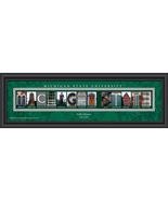 Personalized Michigan State University Spartans Campus Letter Art Print - $39.95