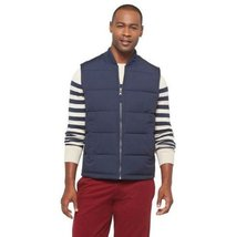Merona Men's Sleeveless Puffer Jacket - In The Navy (Large) - $29.99