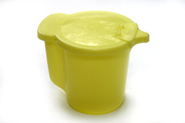 Vintage Yellow Tupperware Creamer - $7.95