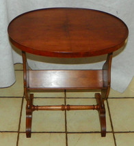Pine Oval End Table / Side Table by Henredon  (RP) - $299.00