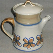 1970s  Metlox BANDERO PATTERN Five Cup Coffee Pot w/Lid MADE IN CALIFORNIA - $39.59