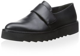 Vince Women's Ames Flat, Black, 7.5 M US - $199.99