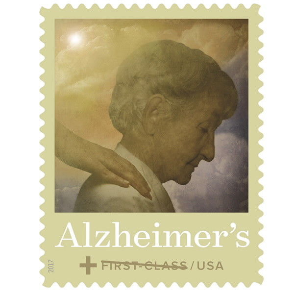 2017 49c Alzheimer's Awareness Scott B6 Mint F/VF NH