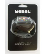 Modal Sport Strap and Case for Apple Watch 42mm - Black - New Open Box - $29.39