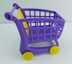 Shopkins Shopping Cart Sprint Game Shopping Cart Replacement Part Purple Piece - $5.93