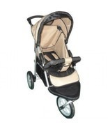Single Jogging Stroller Weathershield Portable Travel Swivel - £107.46 GBP