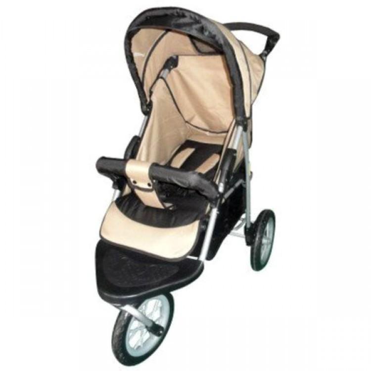 Single Jogging Stroller Weathershield Portable Travel Swivel
