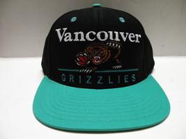 NBA Vancouver Grizzlies Block Script Black 2 Tone Snapback Cap Memphis - $16.82