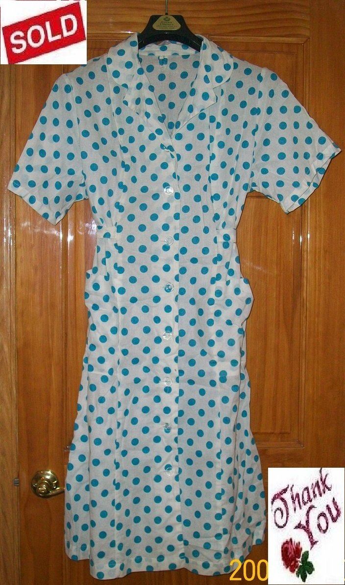 Robe housecoat house coat gown brand new 100  cotton.1