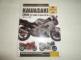 1990 2000 Haynes Kawasaki ZX600 Service Repair Shop Workshop Manual HARD COVER x - $39.60