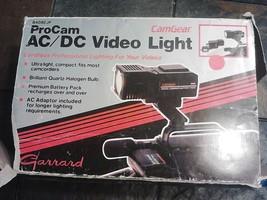 CAMGEAR 840BEJP PROCAM AC DC VIDEO CORDLESS LIG... - $69.68