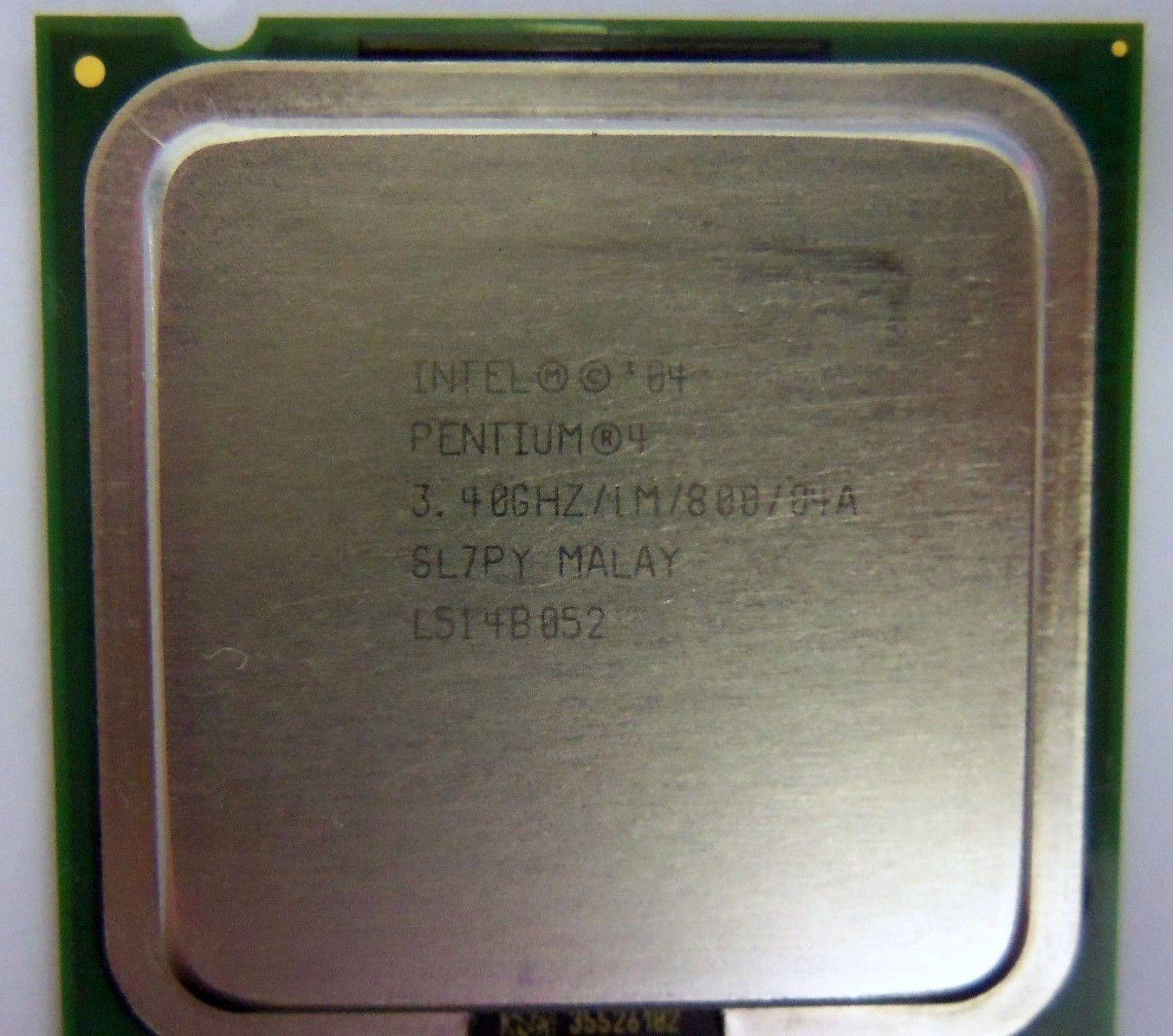 Intel Pentium 4 Processor 550 1m Cache 340 And 26 Similar Items Socket 478 S L1600