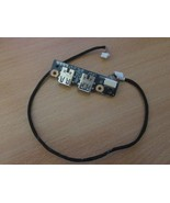 HP Pavilion DV7 - Dual USB Port Board + Cable P/N: JAK00 LS-4082P LS4082P - $9.46