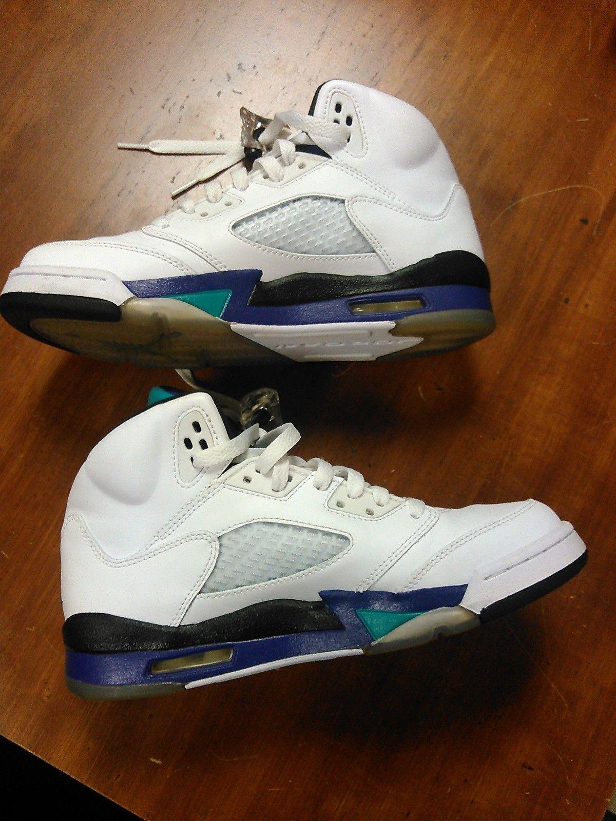 f20953fb8c6 Nike Retro Air Jordan 5 White Grape Size 6Y and 50 similar items. S l1600