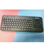 Logitech 920-003070-R Touch K400r Wireless Keyboard w/ Multi-Touch Touchpad - $32.68