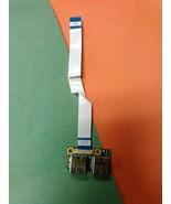 OEM HP Pavilion DV6-1350US USB Port Board W/Cable DAUT3ATB6C0 36UT3UB0020 - $9.46