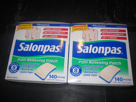 Salonpas Pain Relieving Patches 2-140 Count - $38.21