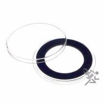 Air-Tite 32mm Blue Velour Ring Coin Capsule Holders Qty: 10 - $12.95