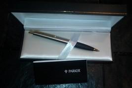 Vintage Parker 2399-02-07/2 Ball Pen InkPen New Brushed Metal BS7272 New... - $46.71
