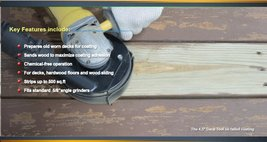 "Angle Grinder Hardwood Floor Removal Tool 4.5"" - $75.06"