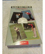 The Master System To Better Golf VHS - $6.99