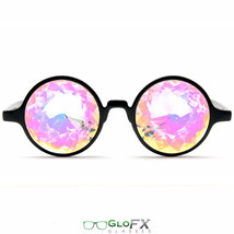 GloFX Kaleidoscope Laser Cut Glasses Crystals Rainbow Filter Rave Party club - $29.99