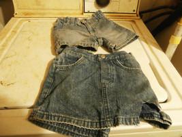 2 pair of jean shorts - $10.00