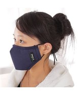 Anti-Pollution PM 2.5 Cotton Face Mask with Carbon Filter  - $14.99
