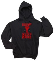 NEW Daddy needs to Express same Rage Deadpool Unisex hoodie BLACK - $31.00+