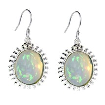 Indian Popular Jewelry Ethopian Opal Shiny Gemstone 925 Sterling Silver SHER0295 - $40.82