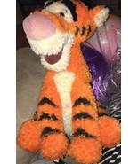 "Disney 15"" Tigger Springy Tail Large Plush Doll Disneyland Fluffy Toy Animal - $15.80"