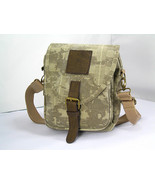 Eco Friendly Cotton Canvas Cross Over Body Purse - $31.00
