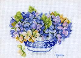 Set cross stitch Lanarte. 34653 Matties Choice. Size 19/14 cm. - $15.00
