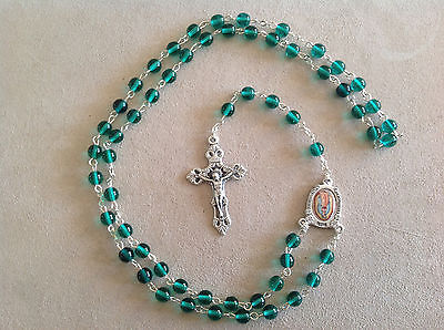 Vatican Observatory Foundation Mary Holy Virgin Rosary Italy, 6 choice of color