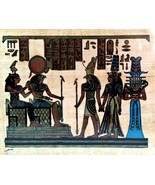 Egyptian Papyrus Paper Pharonic Art Royal Temples Tombs Made in Egypt EA21 - $14.84