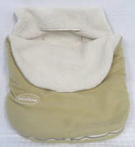 JJ COLE Sage BUNDLE ME Collections CELADON Fleece Car Seat Cover Bundlem... - $19.95