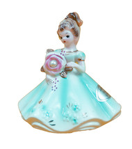 "Josef Originals  3 3/4"" June  Pearl  Girl Figurine original sticker - $34.60"