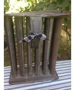 Vintage Taper Candle Stick Mold 12 Holes Tubes Tin Metal Primitive Antiq... - $49.49