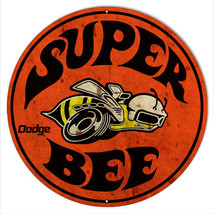 Super Bee Dodge Reproduction Motor Oil Metal  Sign 14×14 - $25.74