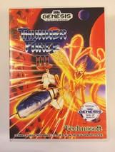 Thunder Force III - Sega Genesis - Replacement Case - No Game - $7.91