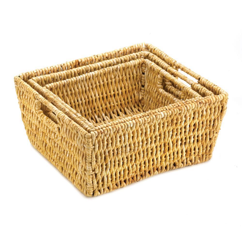 Basket Weaving Supplies Coupon : Arcadian nesting baskets