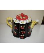 Mary Engelbreit Cherry Teapot 2001 Michel & Com... - $49.95
